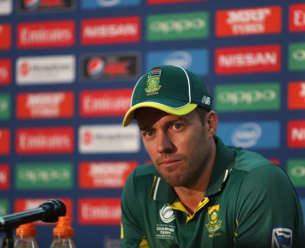 AB de Villiers steps down as ODI captain