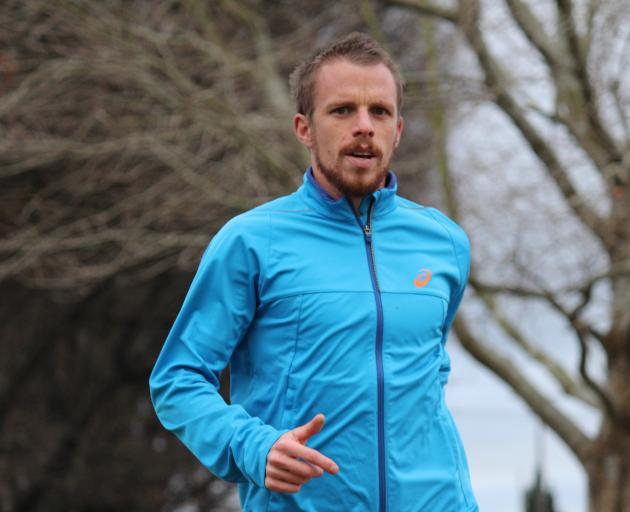 Jason Palmer: ''The big goal for me is to get my marathon time down to 2hr 20''. Photo: Samuel...