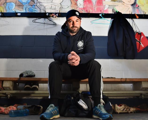 Otago Boys' High School first XV coach, Ryan Martin.