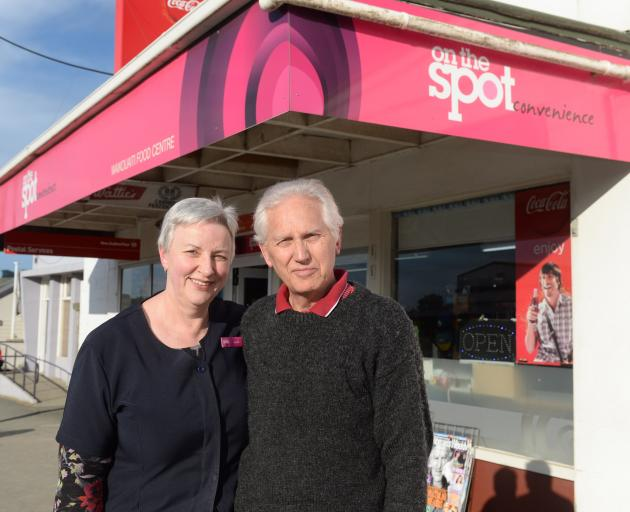 Waikouaiti grocery business owners Lynda and Maurice Greer have sold their store after 42 years....
