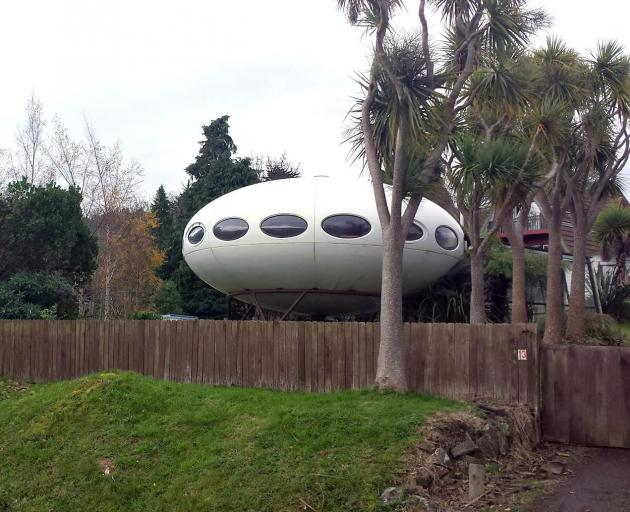 The Futuro house in Warrington has been sold.