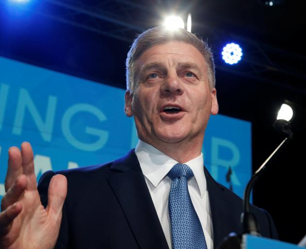 Bill English's National is seeking a fourth consecutive term in power. Photo: Reuters