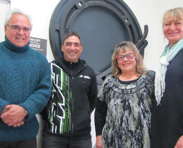 Looking forward to further empowering the Maori community are Uruuruwhenua Health team members ...