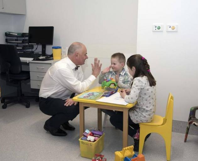 University of Otago Christchurch paediatrician professor Andrew Day is working on research to help his young inflammatory bowel disease patients. Photo:Christchurch Star