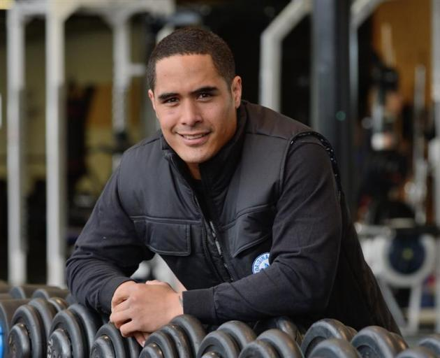 All Black halfback Aaron Smith has re-signed with New Zealand Rugby for another four years. Photo by Gerard O'Brien