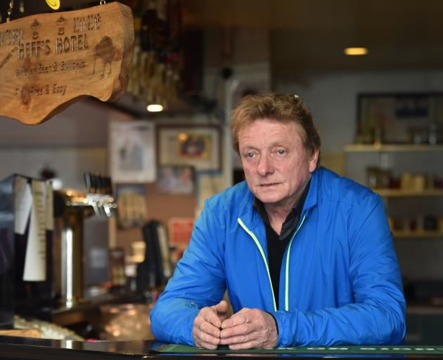 Heff's Hotel publican Stephen Clark says licensing punishments for himself and the bar following a string of incidents involving the police are too hefty. Photo: Peter McIntosh
