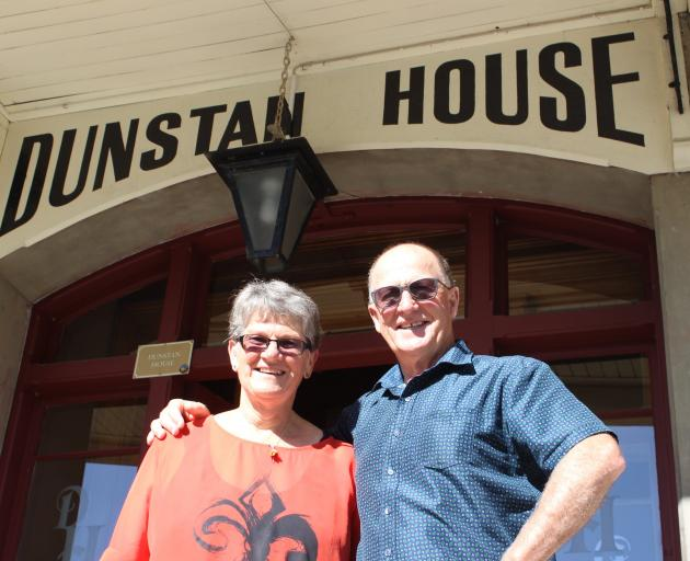Dunstan House owners Maree and John Davidson. Photo: ODT files