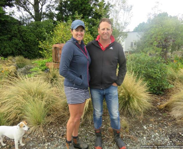 West Range farmers Bronnie and Derek Chamberlain, of Western Southland, encourage other farmers to give the Ballance Farm Environment Awards a go for the benefits it has in farm feedback. Photo: Supplied