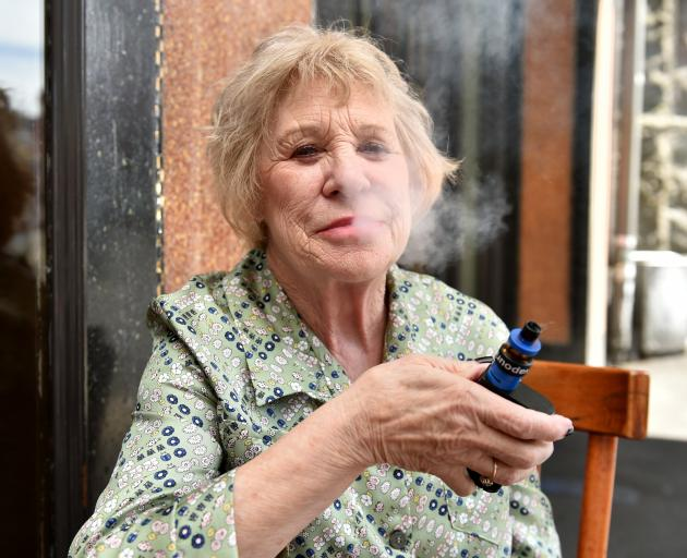 Patricia Court  says vaping is the only thing that helped her give up an almost 40-year smoking...