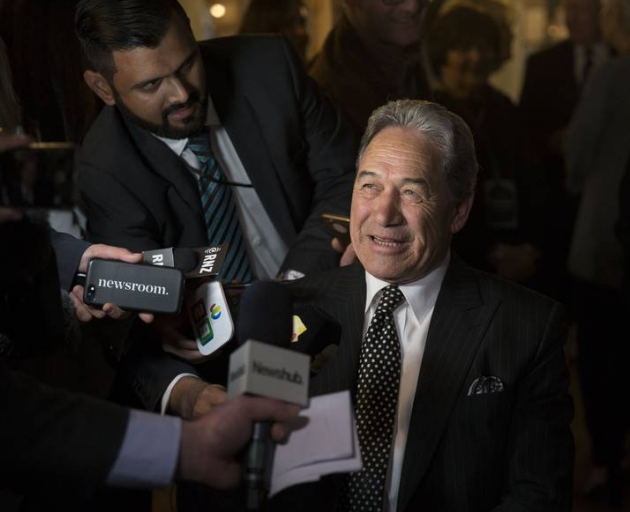 NZ First Party leader Winston Peters. Photo: NZME