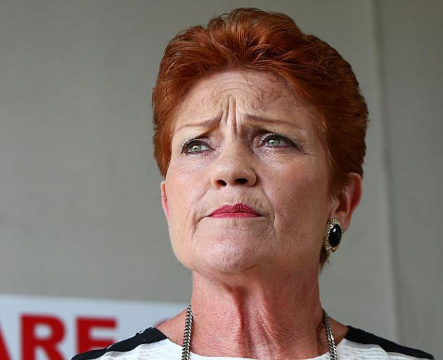 Pauline Hanson. Photo Getty