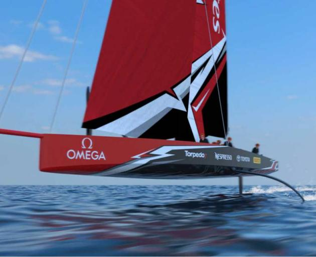 Team New Zealand and Luna Rossa design teams have spent the last four months evaluating a wide range of monohull concepts. Photo: NZ Herald/supplied