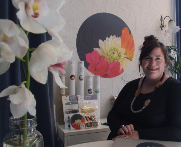 Tinch Design Studio founder Helen Riley-Duddin in the studio of her Oamaru home. Photos: Sally Rae