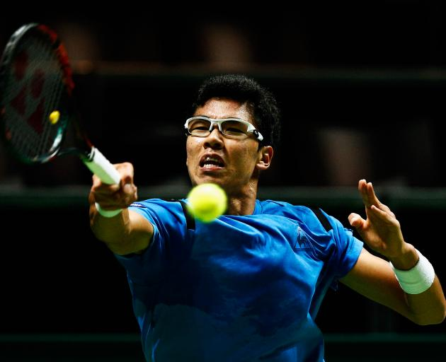 Hyeon Chung. Photo: Getty Images