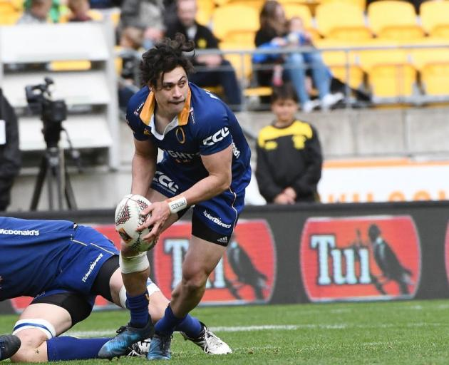 New Blues halfback Jono Ruru in action for Otago earlier this year. Photo: Getty Images