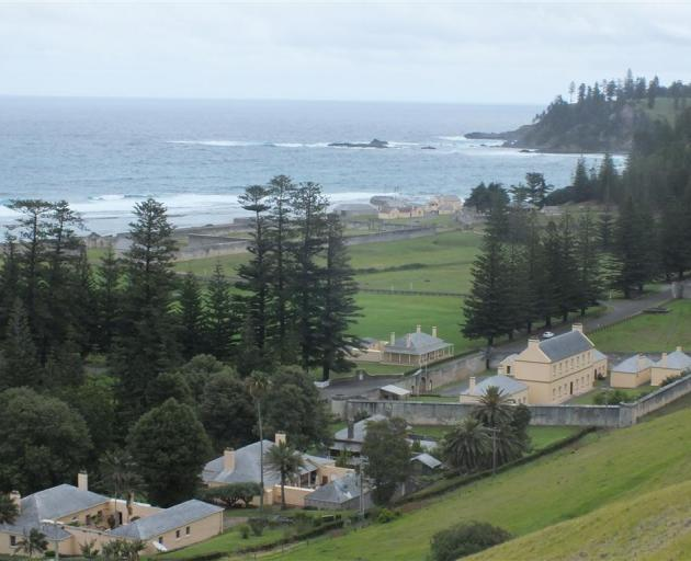 Quality Row from Norfolk Island's Queen Elizabeth lookout.