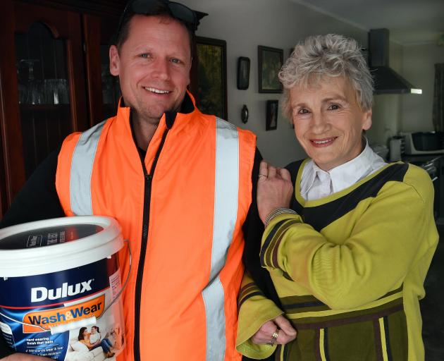 After being left in tears by a rogue painter, South Dunedin woman Lynn Paterson turned to Simon...