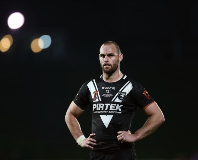 Simon Mannering will return for the Kiwis to play Tonga. Photo: Getty Images