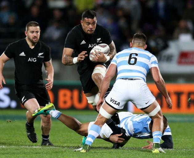 Vaea Fifita was a stand out for the All Blacks against Argentina. Photo: Getty Images