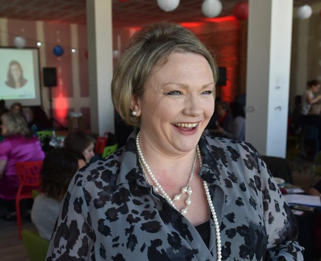 Rise founder Kate Webb during a break in proceedings at the annual Rise women in business event...
