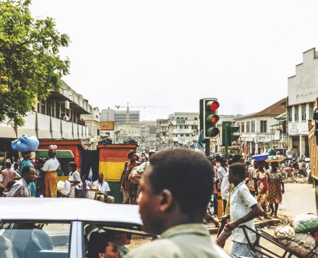Accra has four-million plus residents and all the trimmings of any world city. Photo: Getty Images