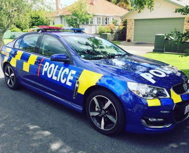 A new blue highway patrol police vehicle will operate in the Southern Police District towards...