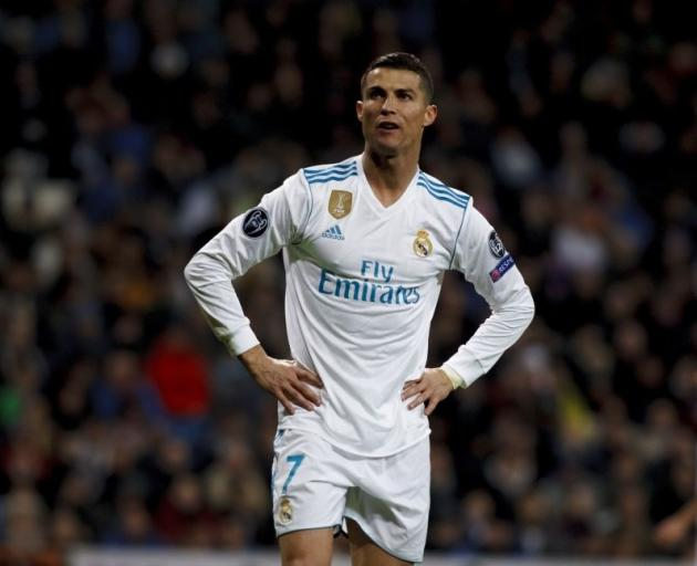 Real Madrid's Cristiano Ronaldo has won his Ballon d'Or trophy. Photo: Getty Images