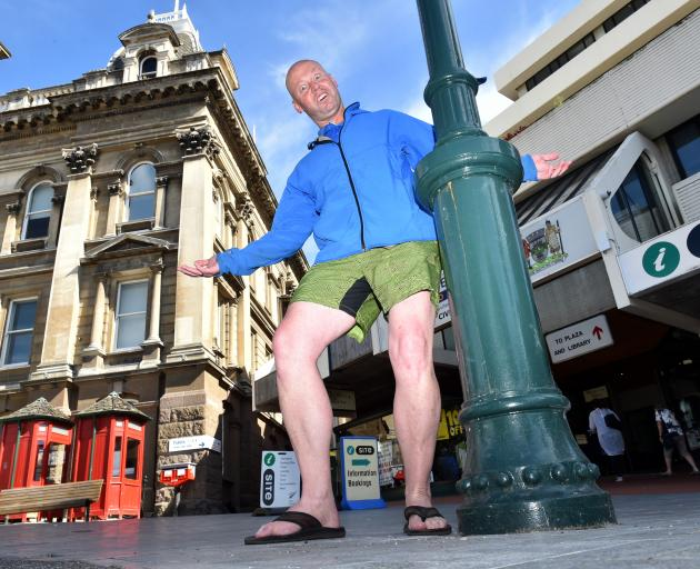 DX Mail Dunedin branch manager Dave Bourke presumed the central Dunedin mailbox had been stolen....