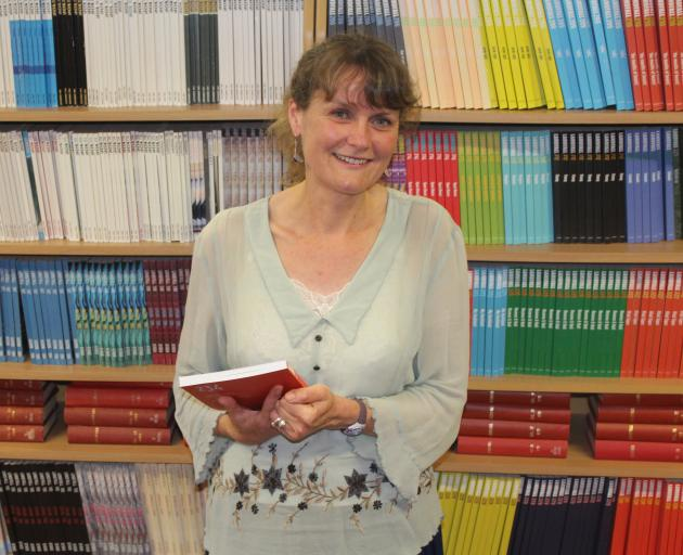 New editor Emma Neale is enjoying getting her teeth into the editorship of long-standing journal Landfall. Photo: Leroy Buxton