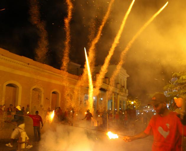 Fireworks accident leaves dozens hurt in Cuba