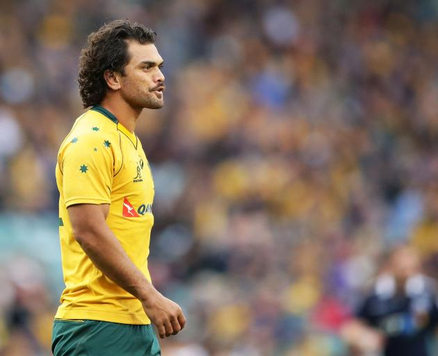 Wallabies player Karmichael Hunt  has been arrested after police found 'white powder' on the New...