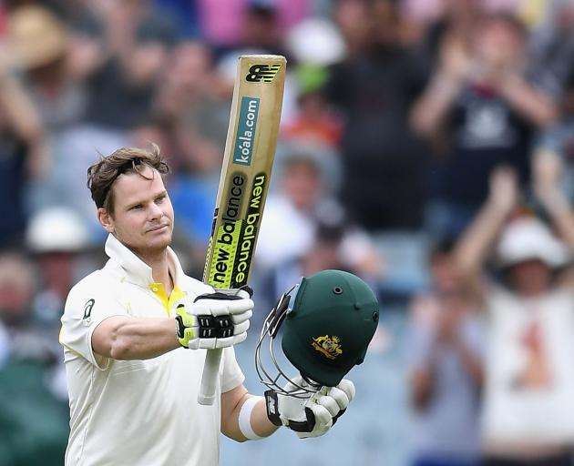 Australia captain Steve Smith notched up his third century of the series to keep England...