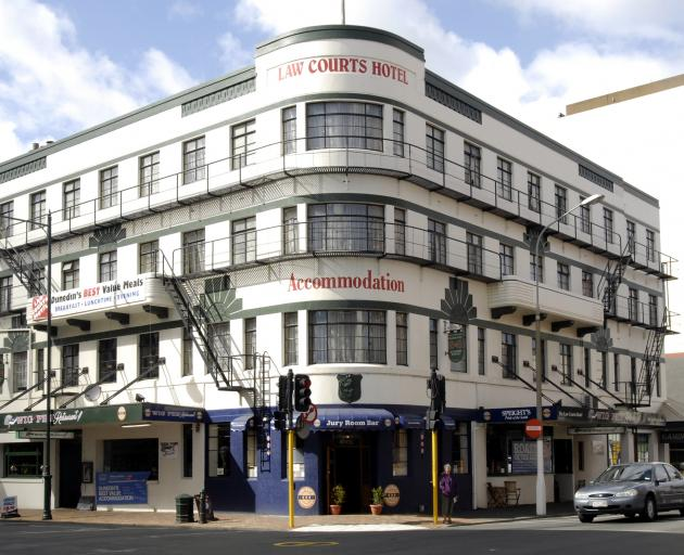 The Law Courts Hotel. Photo: ODT