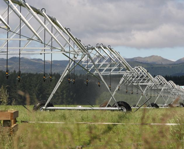 Irrigation has arrived near Kakanui now the North Otago Irrigation Company expansion is complete. Photo: John Cosgrove