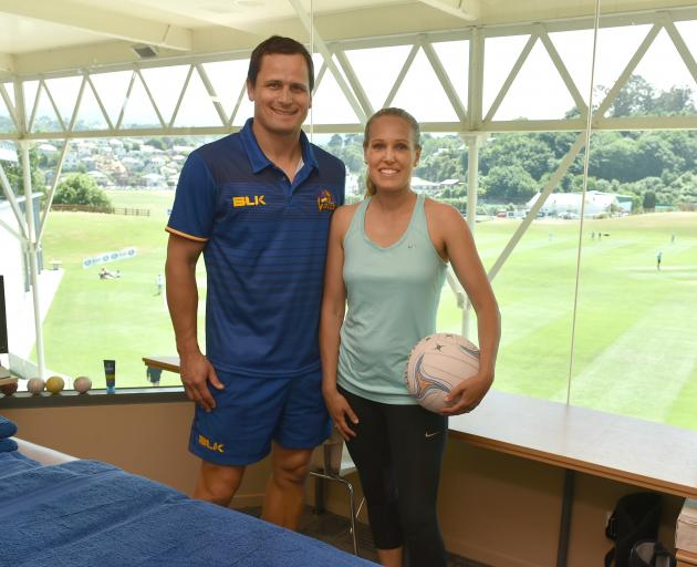 Physiotherapists Brett and Gwen Harrop are playing their part in keeping Otago's athletes in top...