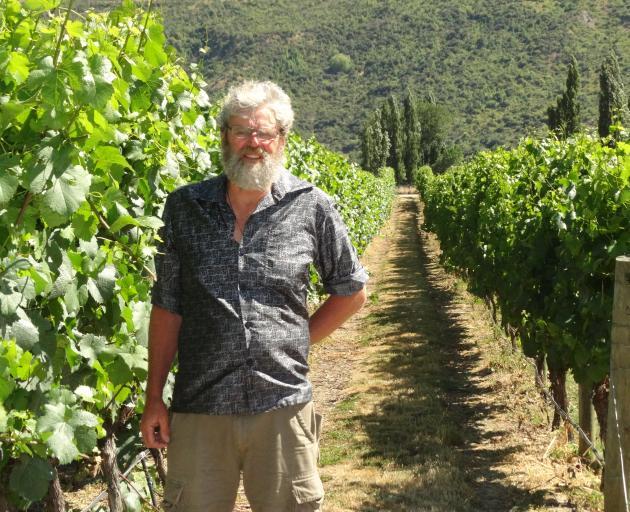 Grant Taylor, of Gibbston's Valli Vineyard, said it will be the earliest harvest of his 25-years...