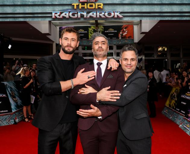 Taika's Thor is NZ's top movie of the year