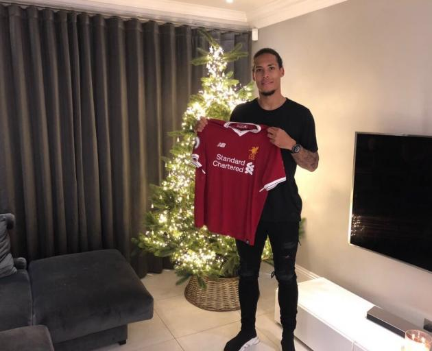 Virgil van Dijk has become the most expensive defender in history after his big money move to...