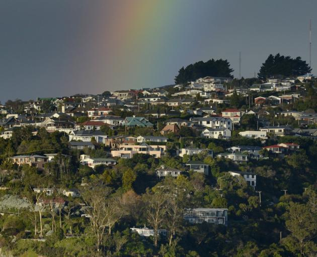 Properties in Dunedin's peninsula and coastal areas have gained more than 16% on a year ago. Photo: Gerard O'Brien