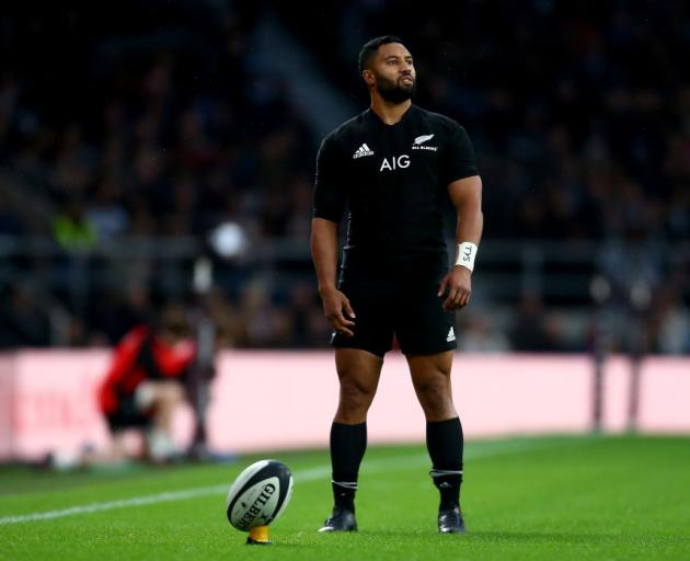 Lima Sopoaga is forsaking the All Blacks and Highlanders for a contract with English club Wasps.  Photo: Getty