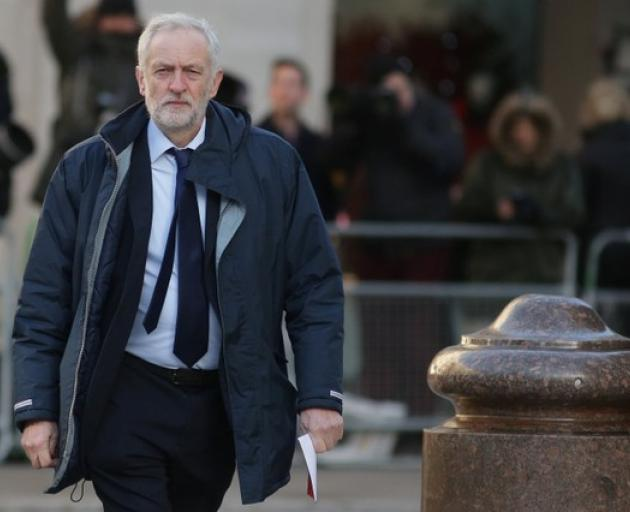 Britain's Labour Party leader Jeremy Corbyn. Photo: Reuters