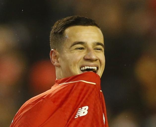 Philippe Coutinho. Photo: Reuters