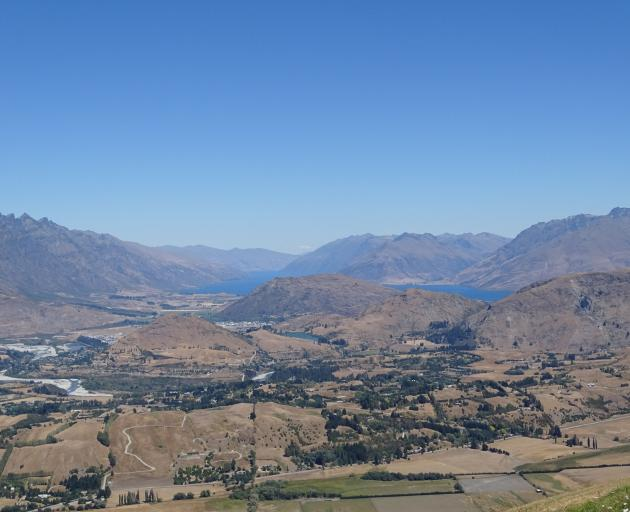 he effects of the hottest, driest summer on record in Wakatipu are becoming more visible daily. Photo: Tracey Roxburgh