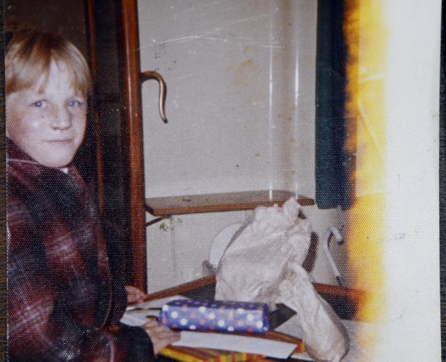 Darryl Smith on his 10th birthday in Dunedin Hospital. Photo: Supplied