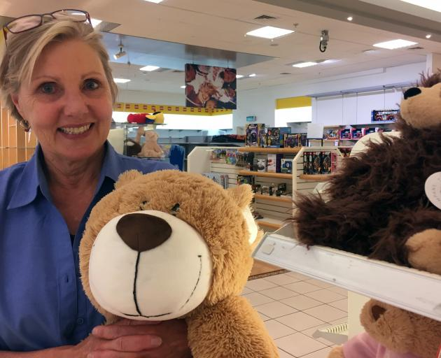 Toyworld Dunedin owner and operator Linda Verity in the toy store in Meridian mall, which is closing this month. PHOTO: SHAWN MCAVINUE