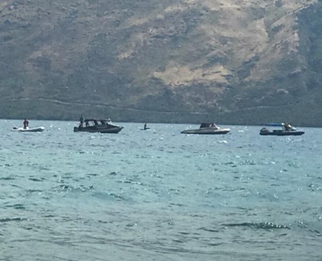 Update on water rescue at Lake Wakatipu