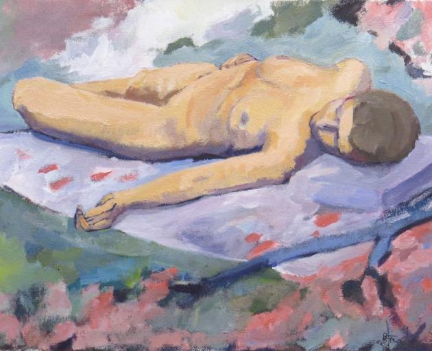 Painting from Life Drawing 1, by Baden French