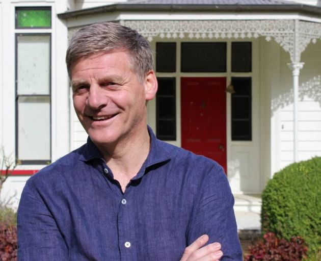 Prime MInister Bill English at his family home in Dipton. Photo: NZ Herald