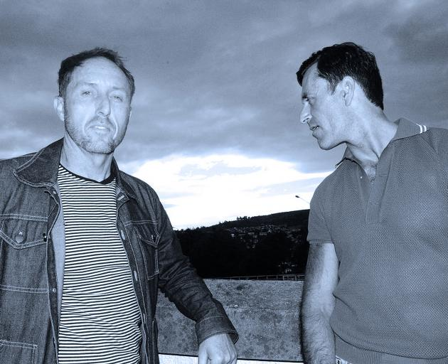 The Charcoal Burners (from left) Shane Gilchrist and Andrew Spittle. Photo: Supplied