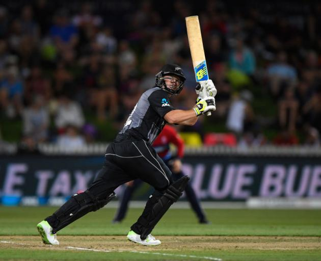 59bdbda2784 New Zealand batsman Colin Munro hits a six during the International  Twenty20 match between New